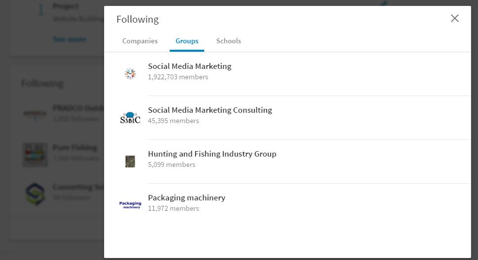 Linkedin Desktop Redesign - 新版领英 Groups在哪里